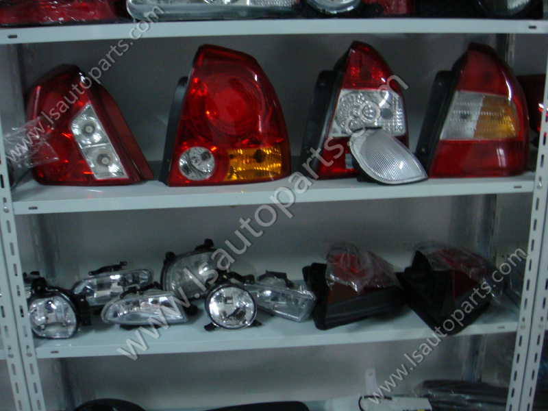 auto light warehouse & factory & showroom