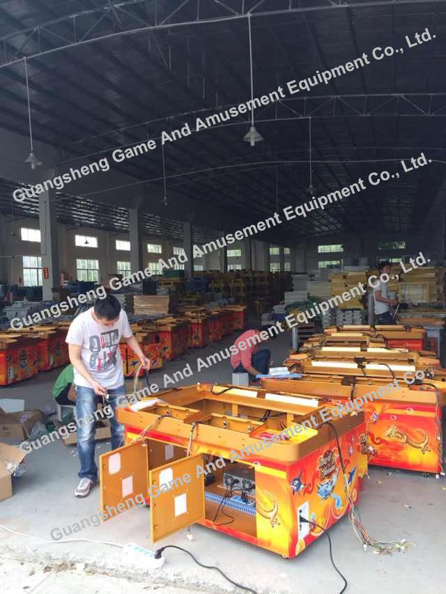 Fishing Game Machine And Workshop And Production