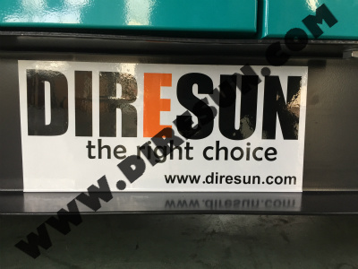 DIRESUN GROUP DIESEL GENERATOR SET MANUFACTURING BASE SHOW 2