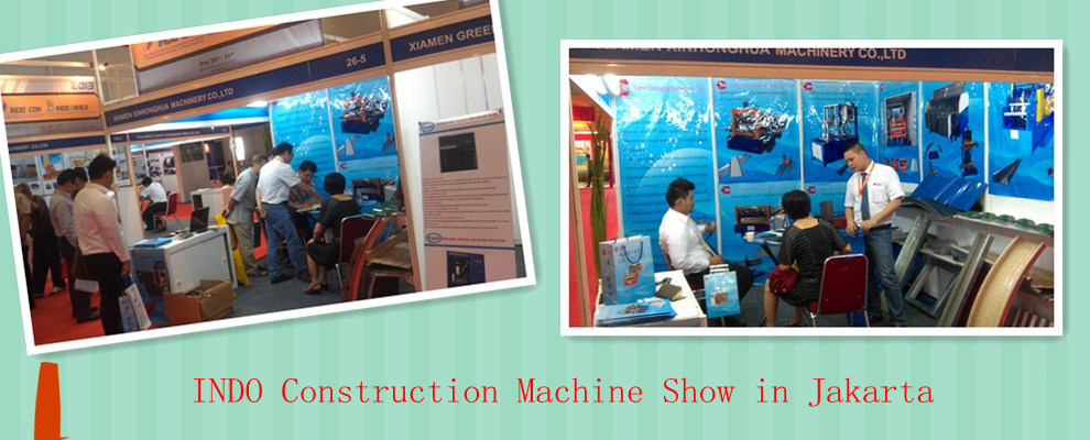 IDON Construction machinery show in Jakarta Indonesia