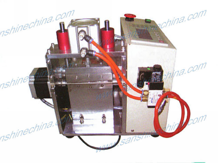 Automatic copper wire foil nylon tube insulation sleeve cutting machine(SS-CT01 )