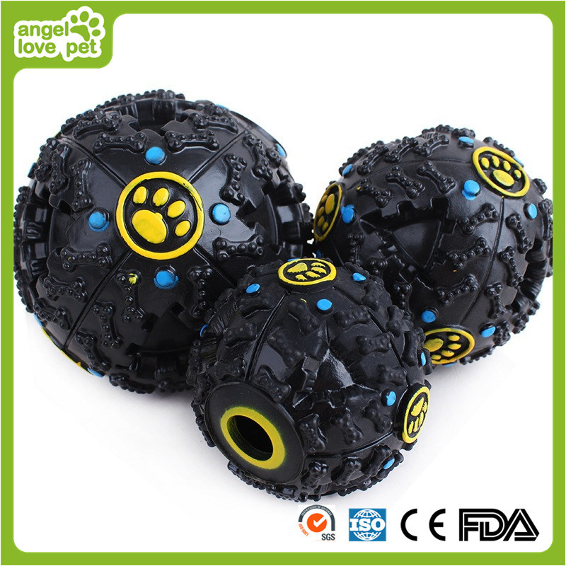 Vinyl Sounding Pet Ball-Food Ball Toys