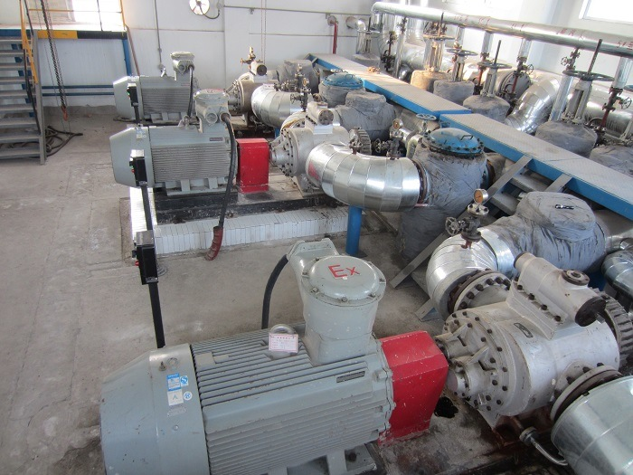 RSP Twin-screw Pump in Refinery