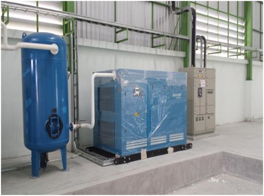 Rotary Screw Air Compressor Installed in Thailand 2014