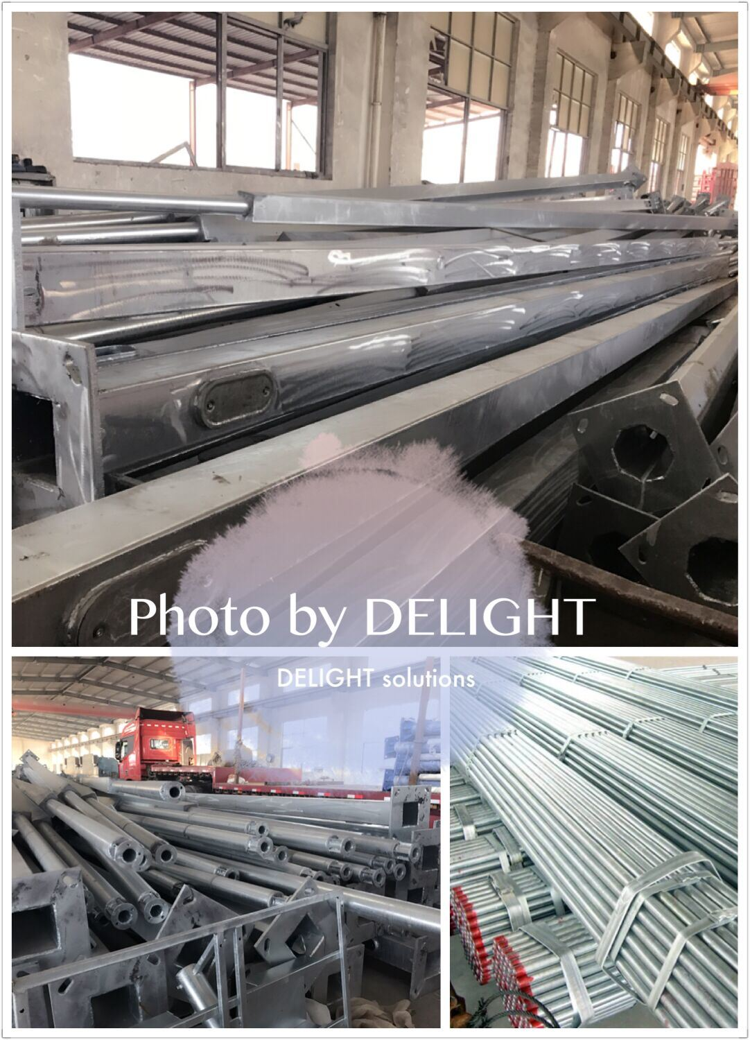 Hot dip galvanized pole VS Galvanized pipe