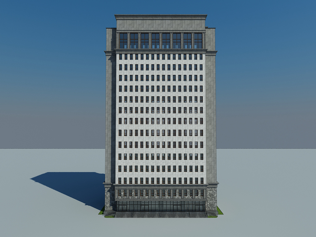 Mongolia Daco Commercial Building