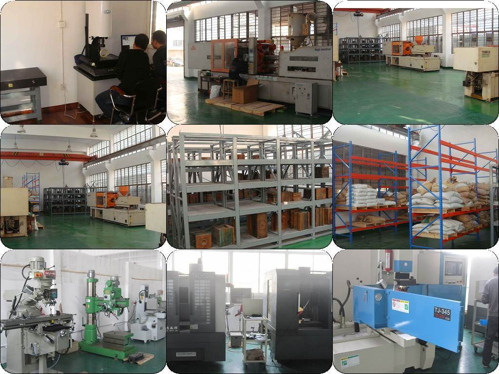 Pastic injection molding workshop