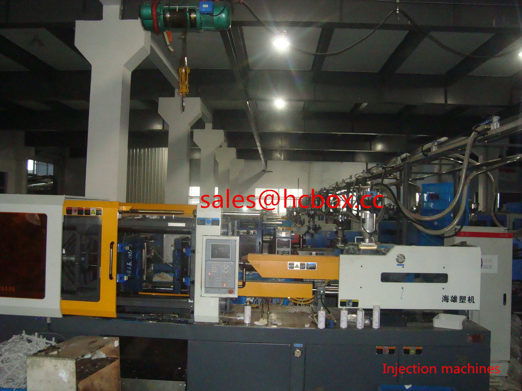 injection machine of workshop