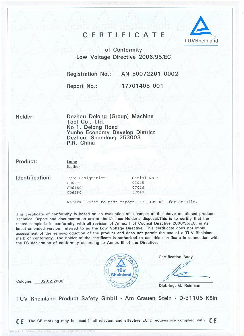 Cd6181 cd6180 cd6280 ce certificate low voltage directive dezhou cd6181 cd6180 cd6280 ce certificate low voltage directive 1betcityfo Image collections