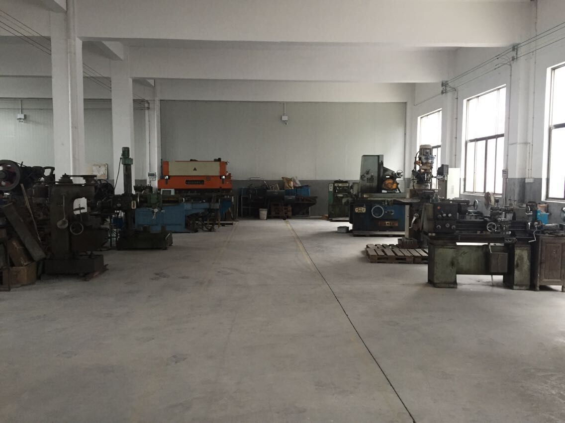 Lathe processing workshop