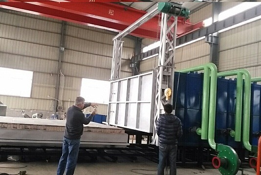 430KW Bogie Furnace exported to Australia