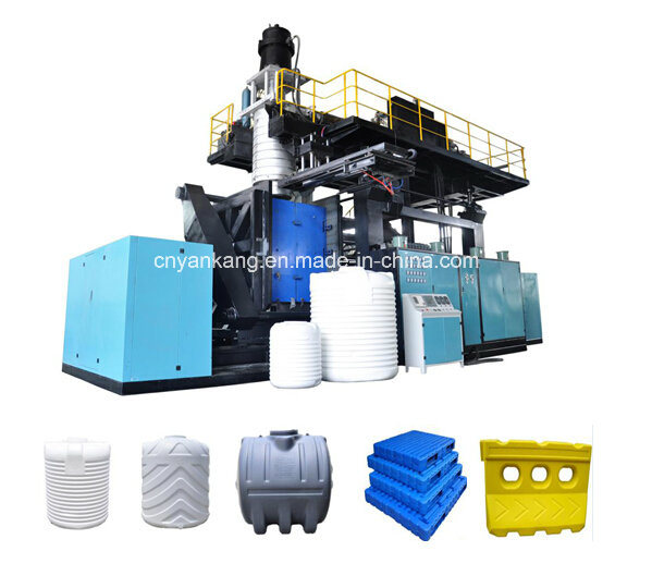 Large size blow molding machine
