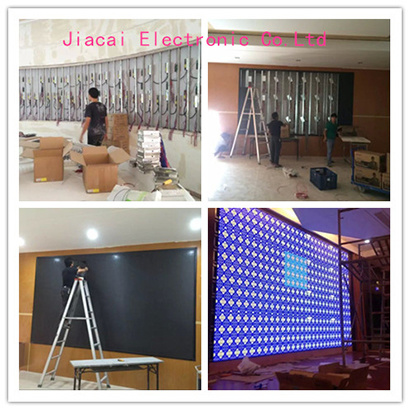 installation of indoor led display