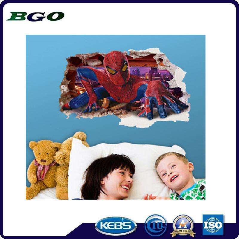 Spider Man Printing Removable Stickers 3D Wall Stickers