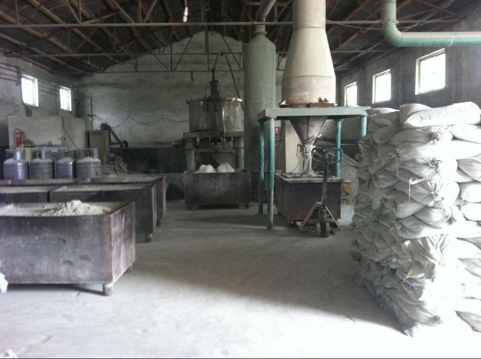 Factory for Silicon Carbide Powder