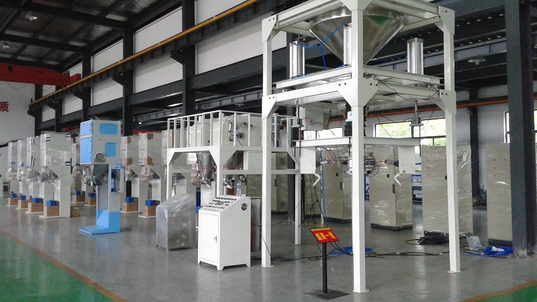 ton bagging machine test before shipment