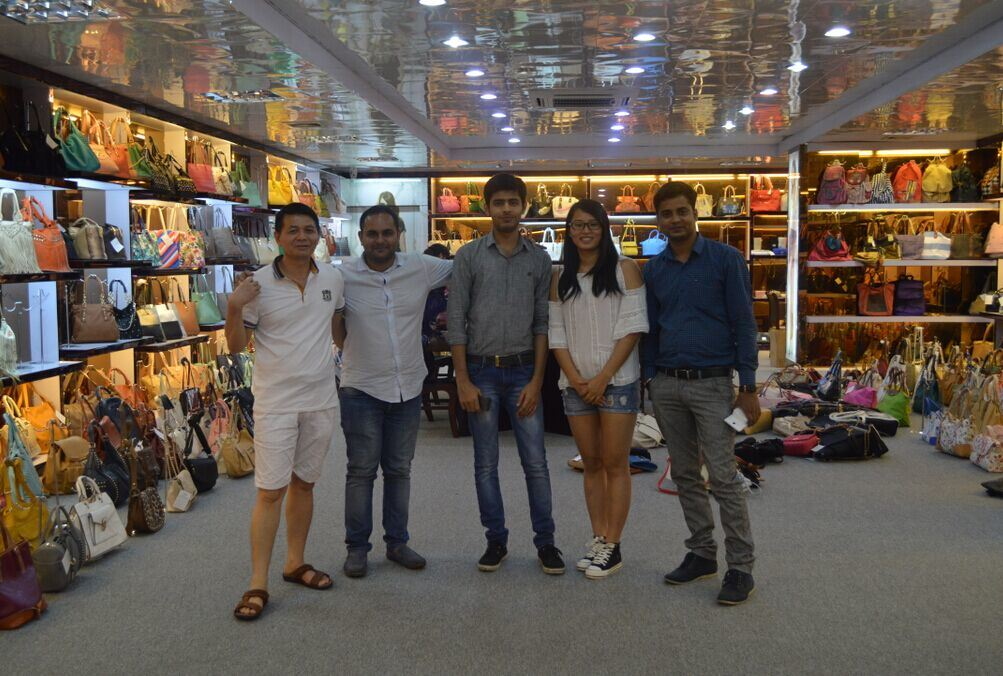 Clients from India visited our showroom in Aug.2015