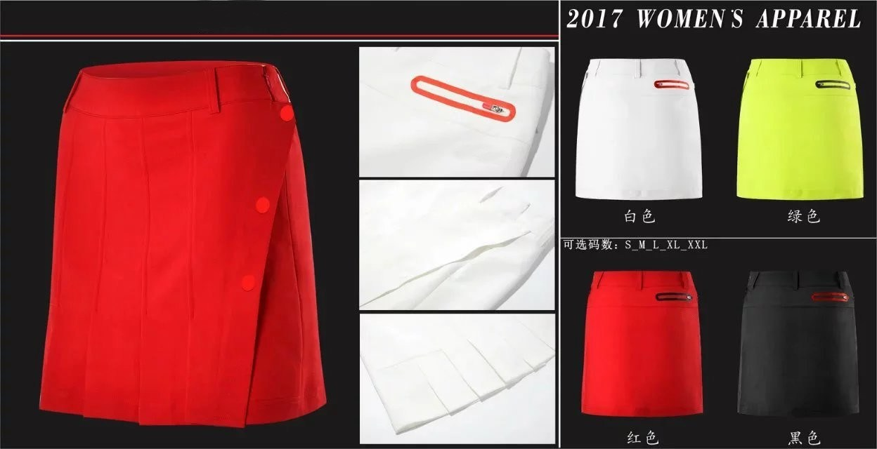 golf anti leakage skirt pants summer sports short pant skirts