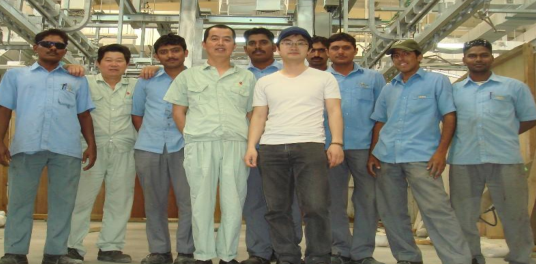 CHANGSHU SLAUGHTERHOUSE EQUIPMENT CO.LTD--our team