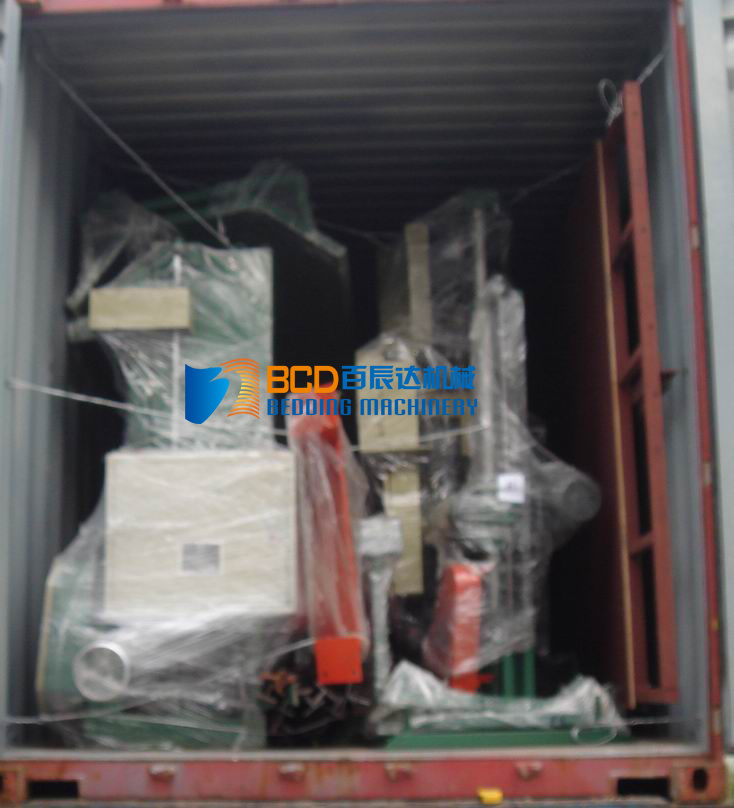 Container loaded