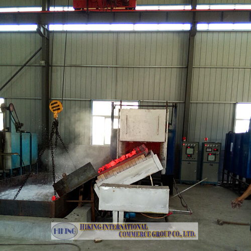 Bogie Furnace for heat treatment