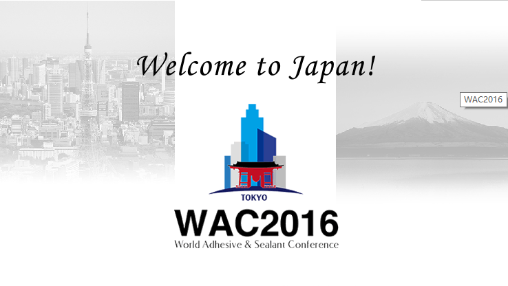 World Adhesive & Sealant Conference In Japan