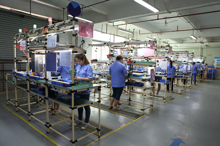 5s Manufacturing Assembly : Lean production line shenzhen linko electric co ltd