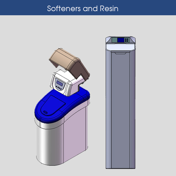 Softeners and Resin