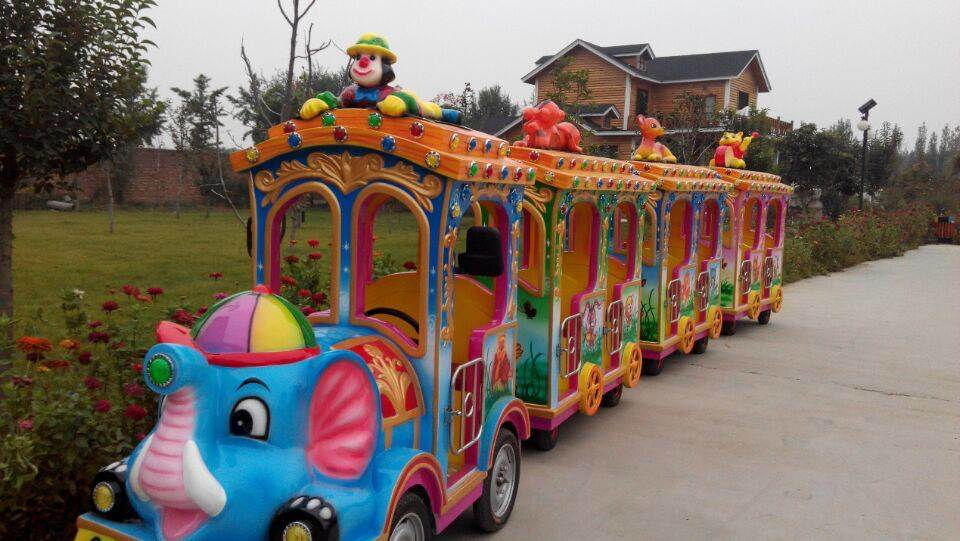 Amusement Equipment Trackless Train