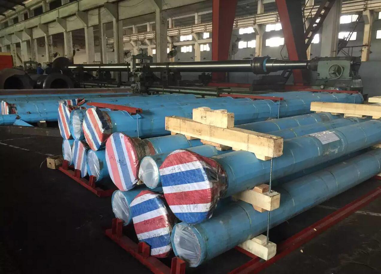 processing large pipe mold