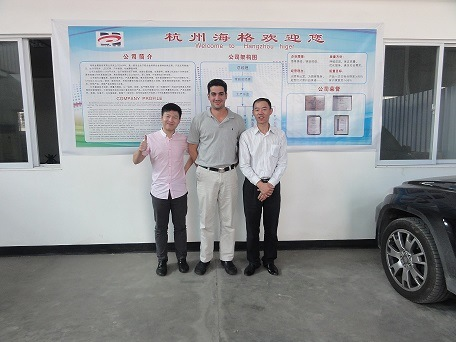Customer from Memphis,USA visited our factory on October 20th,2014