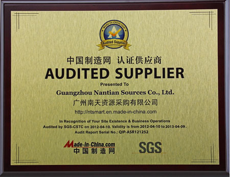 SGS for Company Level 2012