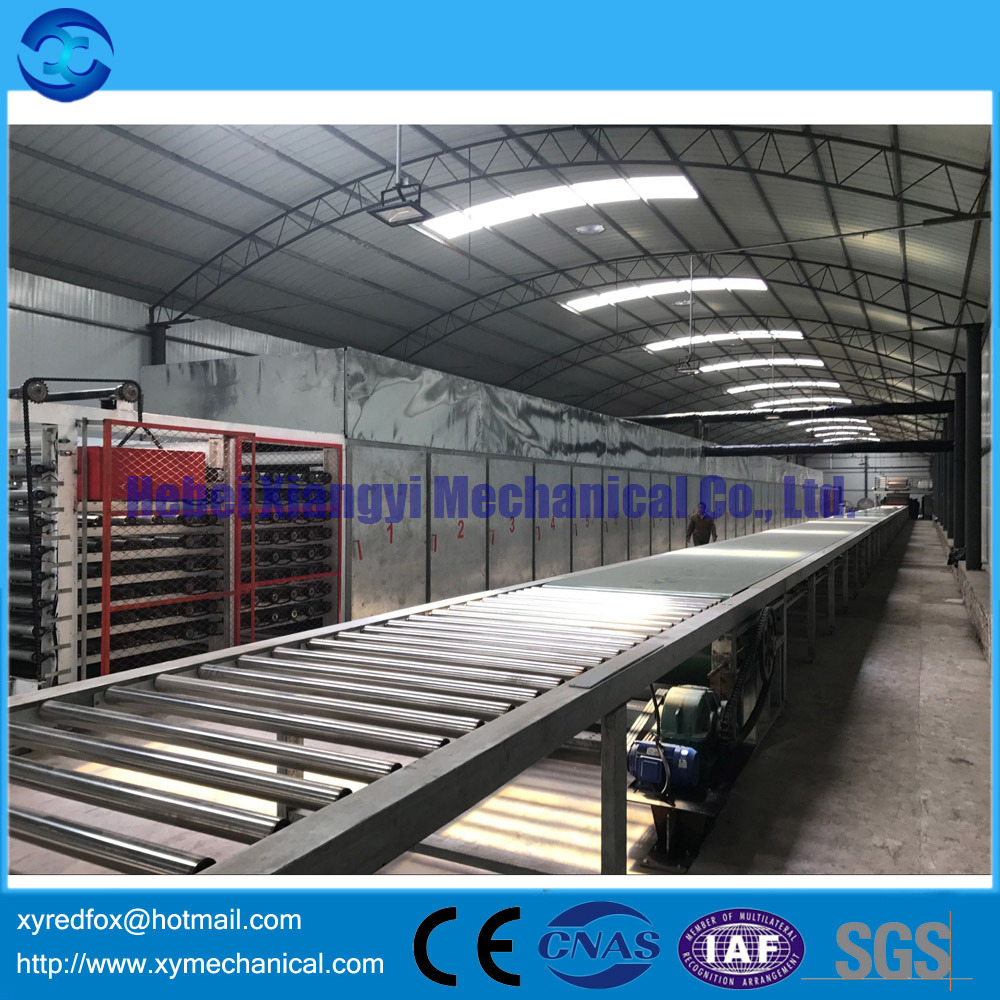 Congrats! New 6millions gypsum board production line installed in Shanxi!