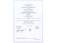 ZhongXing won the GRS certificate