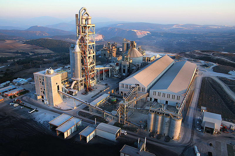 3,300 tons/day cement plant in Bilecik, Turkey
