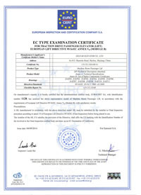 Machine Room Passenger Lift CE Certificate