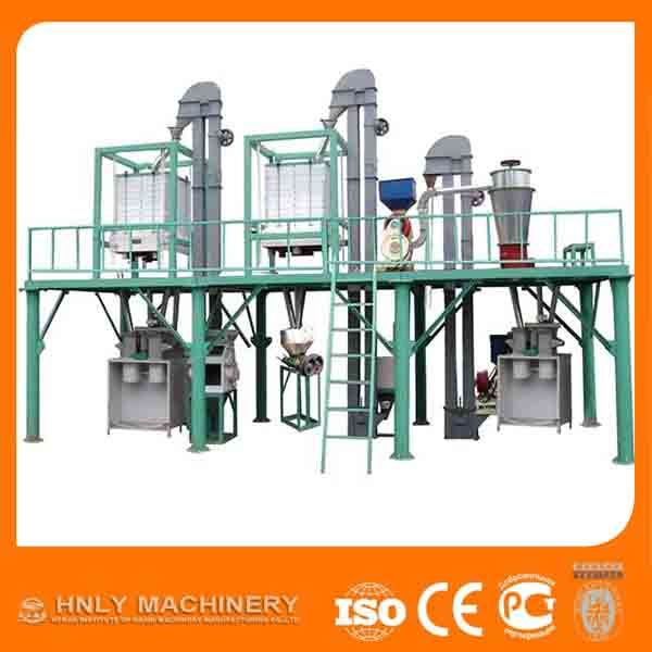 500TPD corn flour mill