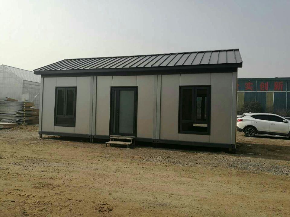 3-Room Sandwich Container House, Sample In Our Factory