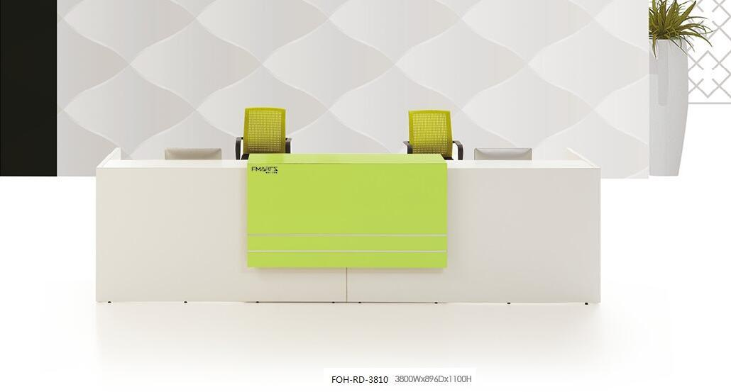 Foh Modern Custom Design 2 Person Reception Desk