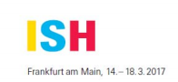 ISH 2017 in Frankfurt Exihbition will held from 14th Mar~18th Mar