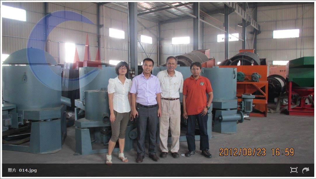 Indonesia customers visiting for Completely Gold Mining Machines