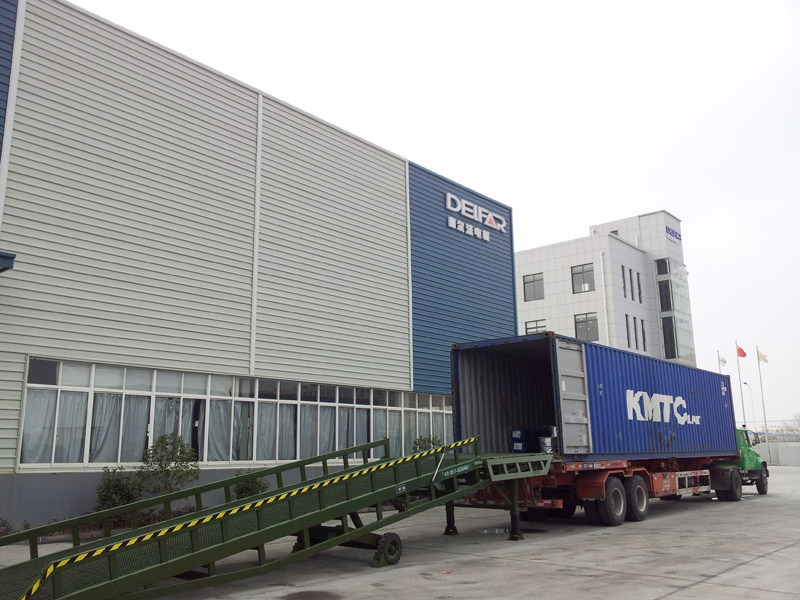 Do Container Loading in Factory