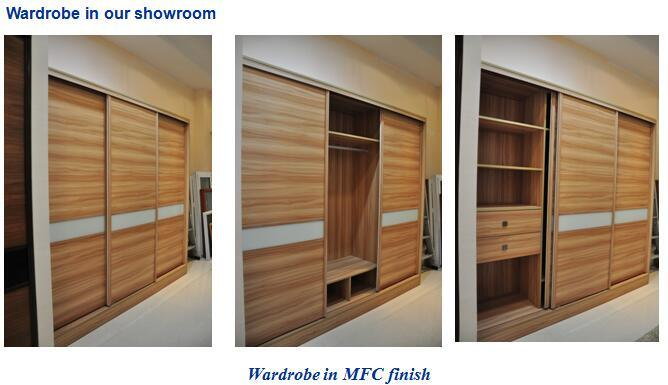 wardrobe in our show room