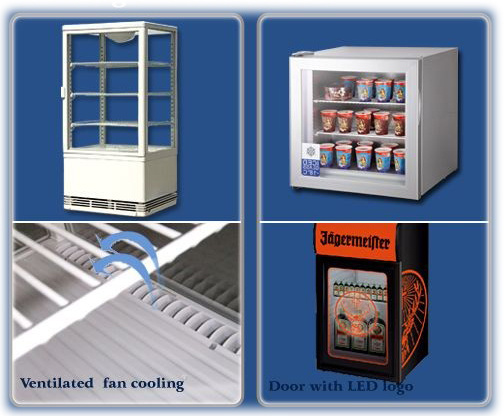 Ventilated Fan Cooling & Door with LED Logo