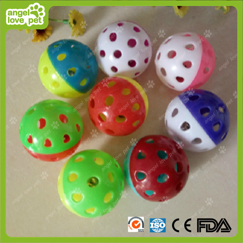 Pet Plastic Ball Cat Bell Balls Pet Toys