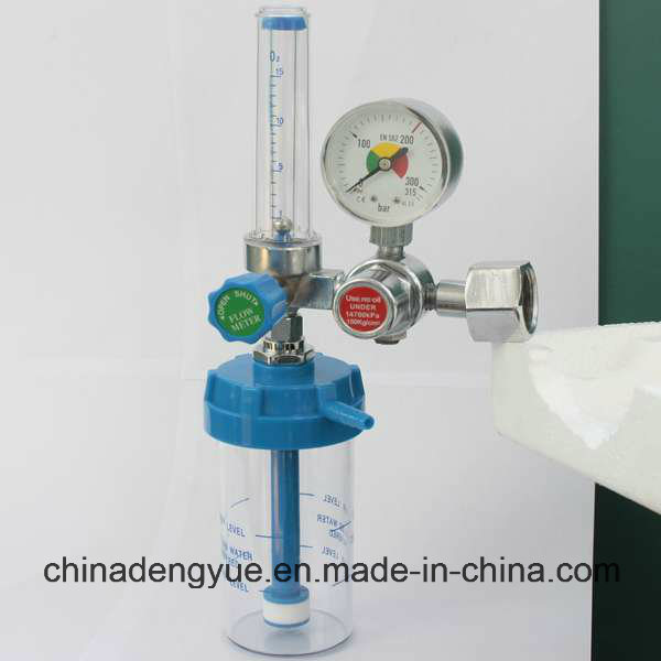 European Standard Medical Oxygen Regulator with Humidifier Good Price