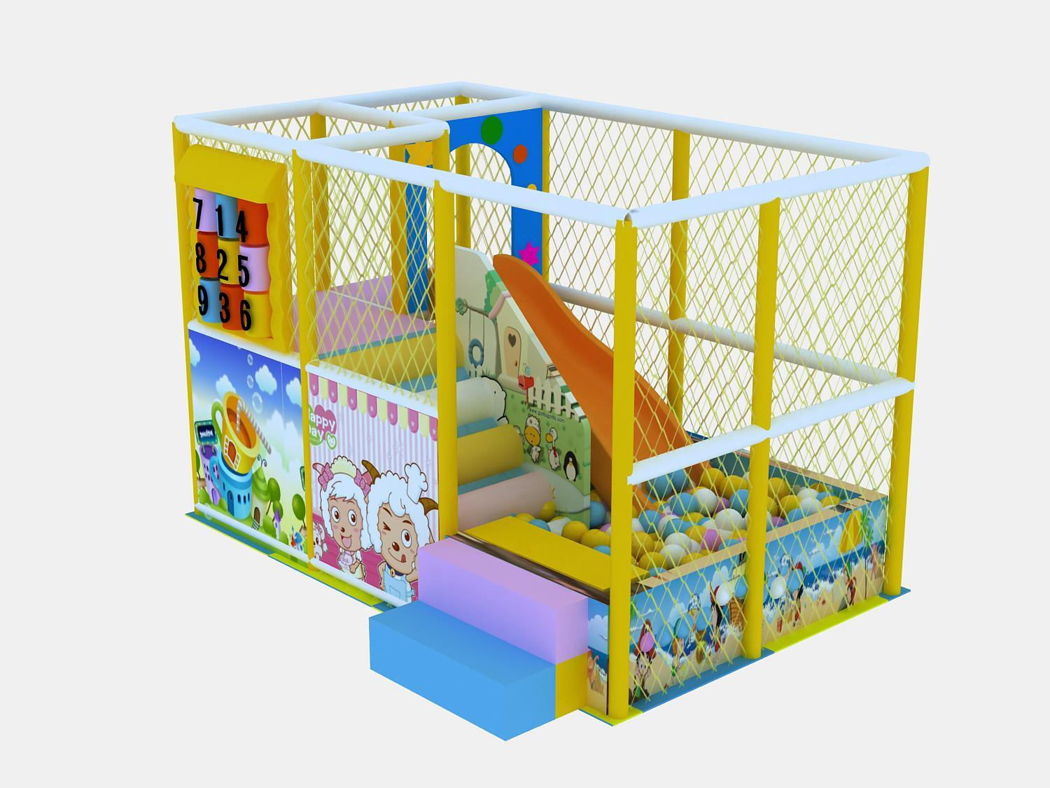 Indoor Soft Playground Naughty Castle