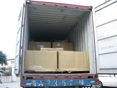 Shipment to Russia at August,2010