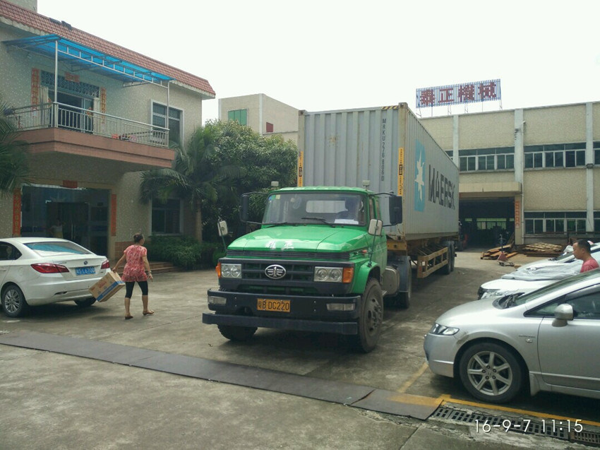 container loading for export business