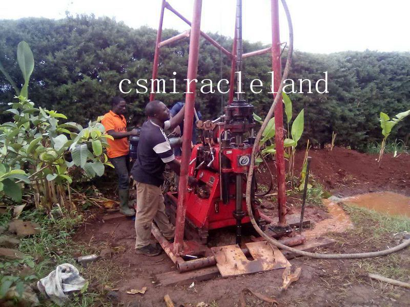 HGY-200C Drilling Rig worked in Cameroon.